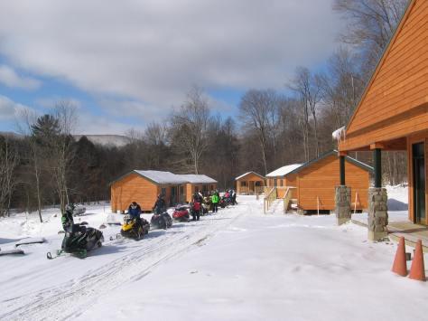 Group camp5 Winter scene