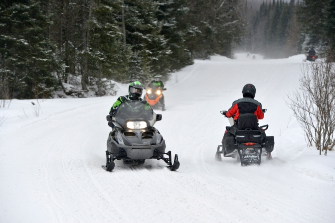 Explore NY State Parks On Snowmobile