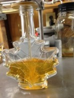 Bottling Maple Syrup at TOEC