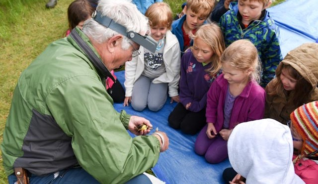Bird Banding at Crown Point State Historic Site