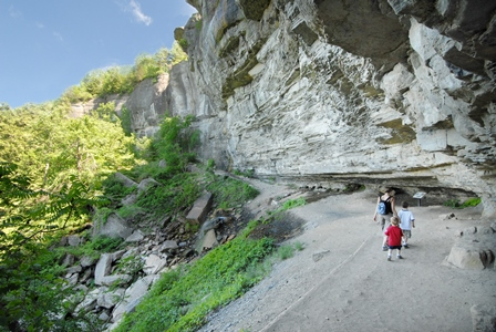 Thacher Indian Laddler Trail near Falls