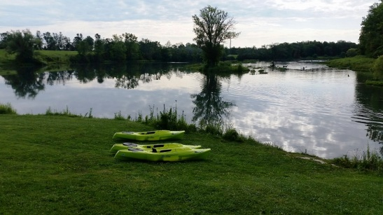 Calm waters of the lagoon make this a perfect location for first time kayakers, photo by Tina Spencer, State Parks