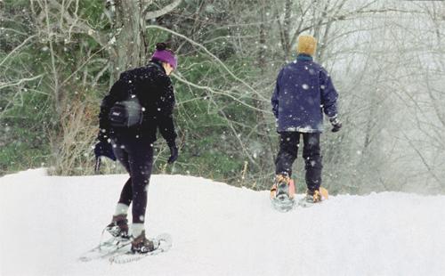 grafton-state-park-snowshoeing