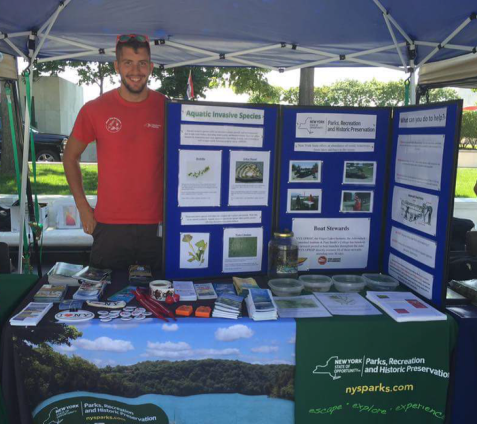 jared-reed-saratoga-lake-steward-participates-in-invasive-species-awareness-week-in-albany-matt-brincka-state-parks