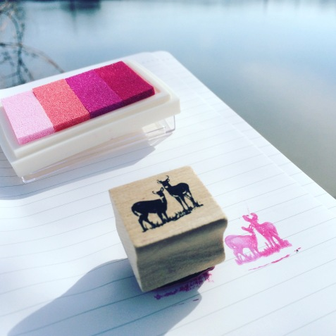 letterboxing stamp (photo by Erin Lennon)