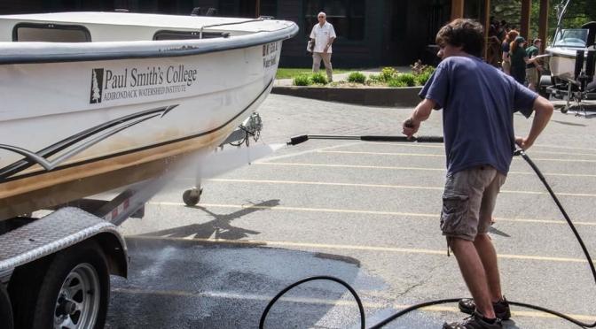 "Did Someone Say ""Free Boat Wash?"""