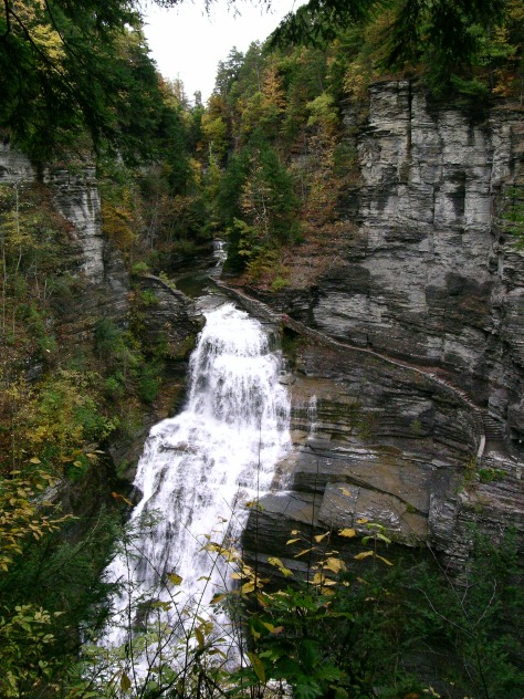 Lucifer Falls, RH Treman SP, photo by J Teeter
