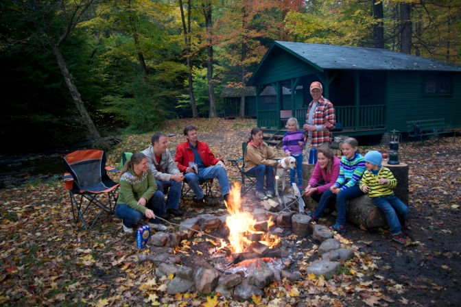 Fall in Love with Autumn Camping