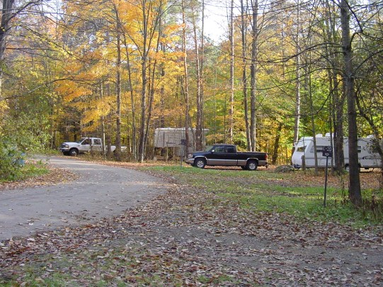 Red House CG, Fall Camping