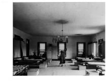 Inside the barracks, photo courtesy of Old Fort Niagara