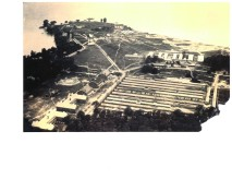 Aerial view of Fort Niagara 1917, photo courtesy of Old Fort Niagara