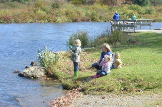 Fishing is a great family activity, photo by State Parks