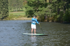 Standup paddle boarding, photo by State Parks
