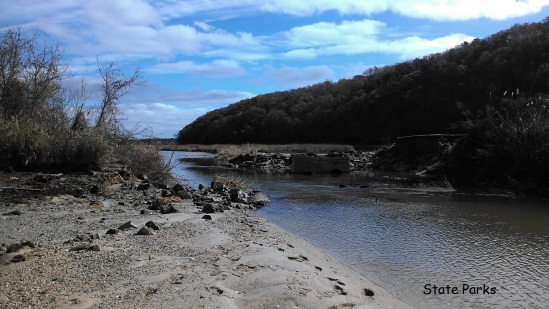 Sunken Meadow Creek after Sandy with photo credits