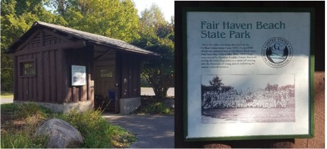 Fairhaven Beach SP and CCC
