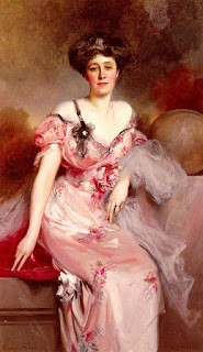 Portrait of Madame D by François Flameng, 1910, accessed via Wikicommons