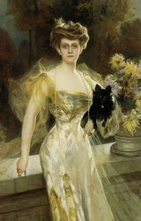 Portrait of Mrs. Meunier, by François Flameng, 1907, accessed via Wikicommons
