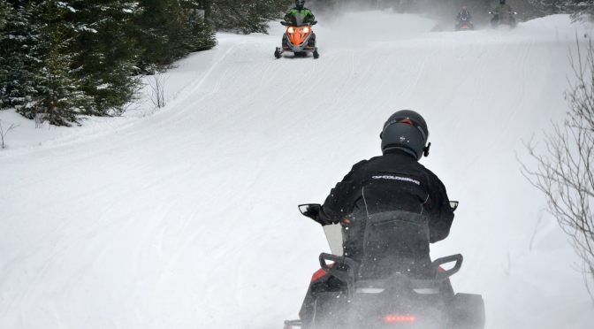 Letchworth State Park Snowmobile Trails