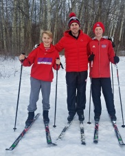 Cross-country skiing is a great family activity, Nicandri Nature Center