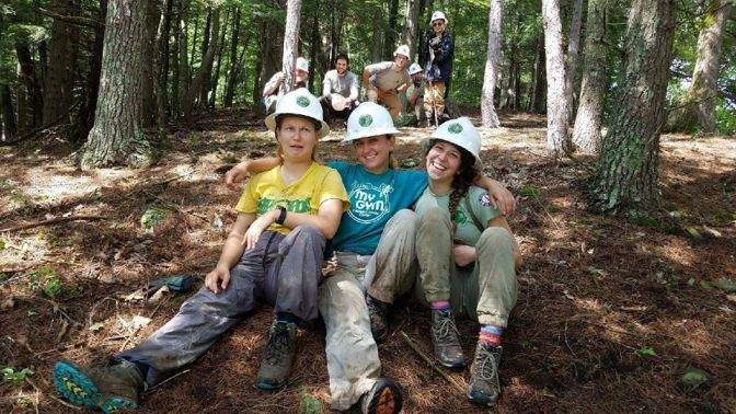 Building Bridges: the Excelsior Conservation Corps Lend State Parks a Hand at Mine Kill