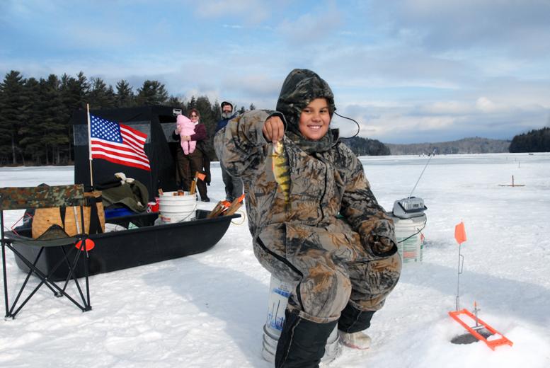 Grafton Wintrer Festival Ice Fishing