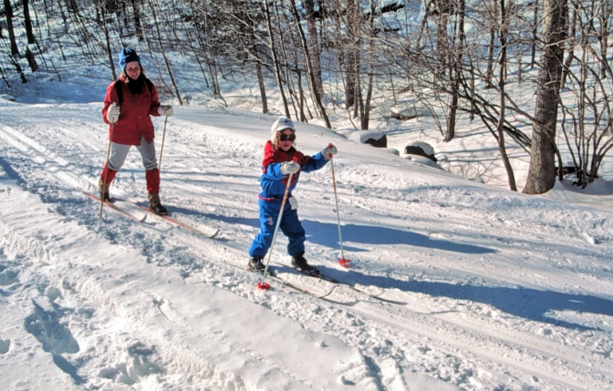 Enjoy Winter – Get the Kids Outside