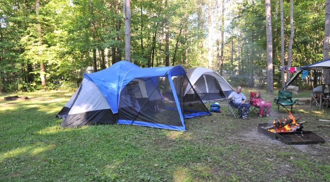 Camping Chenango Valley State Park