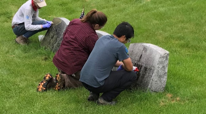 Curated Cemeteries Tell Tales at State Parks