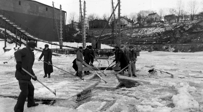When Ice Came from the Hudson River: Ice Harvesting in Staatsburg